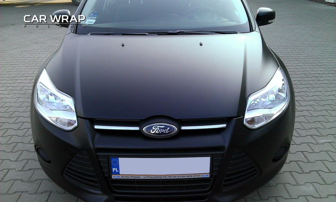 Ford Focus Black Matt