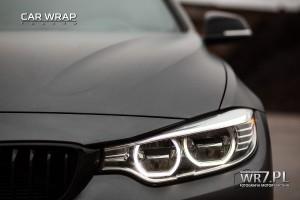 BMW 435i matte dark grey