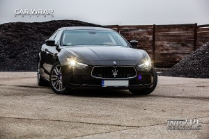 Maserati Ghibli - 3M Gloss Black Metallic