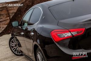 Maserati Ghibli - 3M Gloss Black Metallic