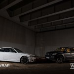 BMW E46 Coupe i Mercedes GL Black Matt