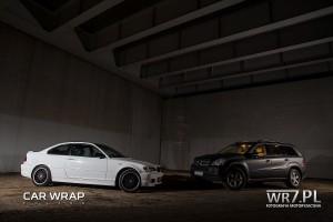 BMW E46 Coupe i Mercedes GL Black Matt