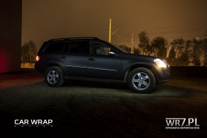 Mercedes GL Black Matt