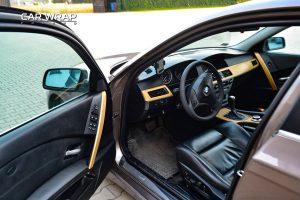 BMW E60 stylizacja wnętrza