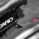 Subaru WRX STI Recaro Matte Charcoal Mettalic 3M
