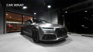 Audi RS7 3m Satin Grey