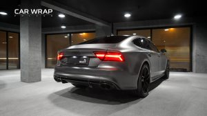 Audi RS7 3m Satin Grey
