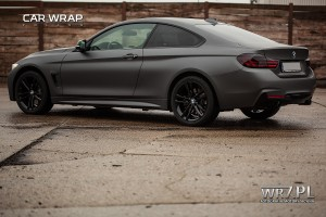 BMW 435i matte dark grey