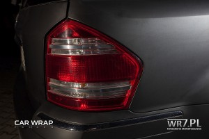 Mercedes GL Black Matt