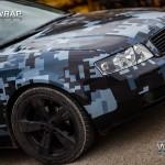Audi A4 Pixel Camo